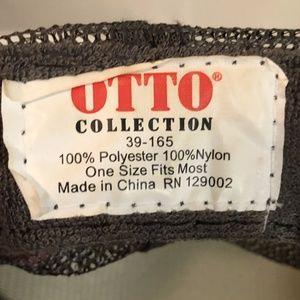 Otto Accessories - Otto Collection Iron4Ultra Snapback Hat Cap Black